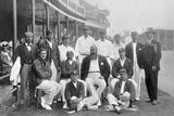 The England Test Cricket XI at Nottingham  Nottinghamshire  1899