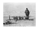 The Last Sledge from the Trek Back from the 'Great Southern Journey  1909
