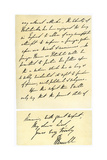 Letter from John Russell to Edward Maltby  Bishop of Durham  4th November 1850