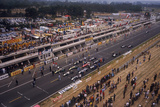 Starting Grid of the French Grand Prix  Le Mans  1967