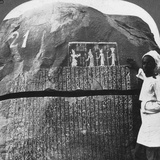 Remarkable Inscription of a Seven Year Famine on an Island in the Nile  Egypt  1905