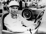 Stirling Moss at Goodwood  1954