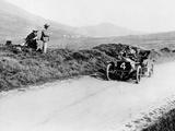 Charles Rolls on the Way to Winning the Isle of Man Tt Race in a 20 Hp Rolls-Royce  1906