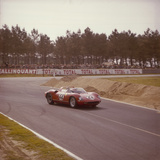 A Ferrari 250 P at Le Mans  France  1963
