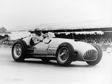 Froilan Gonzalez Driving a Ferrari  Early 1950S