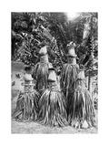 Masks Possessing Magical Qualities  Bismarck Archipelago  Papua New Guinea  1920