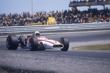 John Surtees Driving a Honda  Spanish Grand Prix  Jarama  1968