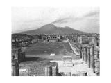 Forum  Pompeii  Italy  Late 19th or Early 20th Century