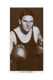 Ben Foord  South African Boxer  1938