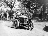 Algernon Guinness Driving a Minerva in the Circuit Des Ardennes  1907