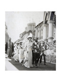 Tsar's Family at the Celebrations of the 300th Anniversary of the House of Romanov  Russia  1913