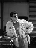 Ayrton Senna, 1987 Papier Photo
