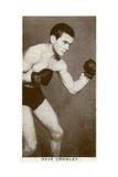 Dave Crowley  British Boxer  1938