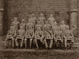 The Regimental Police of the 1st Royal Munster Fusiliers  Rangoon  Burma  1913