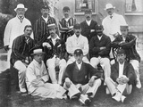 The England Test Cricket XI at Lord's  London  1899