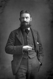 George Bernard Shaw (1856-195) Irish Dramatist  Critic and Fabian  1893