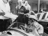 Reg Parnell in Aston Martin DB3S  Monza  1952