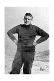 Ernest Shackleton  British Explorer  Antarctica  1909