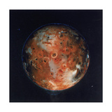 Full View of Io  One of the Moons of Jupiter  1979
