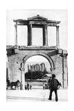 The Temple of Zeus  Olympia  Greece  1922