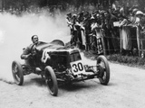 Zborowski Driving a 1922 Aston Martin 15 Litre 'Strasbourg' at Shelsey Walsh  (1922)
