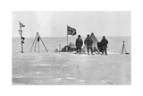 The Shackleton Camp  Antarctica  Christmas Day  1908