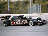 Mario Andretti Racing a Jps Lotus-Cosworth 78  Spanish Grand Prix  Jarama  Spain  1977