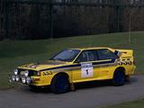 1985 Audi Quattro A2 Car