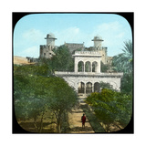 Marble Pavilion in the Fort Gardens  Lahore  India  Late 19th or Early 20th Century