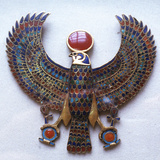 Pectoral Jewel from the Treasure of Tutankhamun  Ancient Egyptian  C1325 Bc