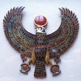 Pectoral Jewel from the Treasure of Tutankhamun  Ancient Egyptian  C1325 Bc