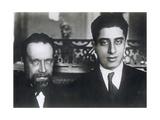 Composers Nikolai Myaskovsky and Aram Khachaturian  1933
