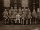The Garrison Police of the 1st Royal Munster Fusiliers  Rangoon  Burma  1913