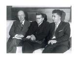 Sergei Prokofiev  Dmitri Shostakovich and Aram Khachaturian  Russian Composers  1945