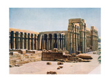 The Colonnade of Amenhotep III  Temple of Luxor  Egypt  20th Century