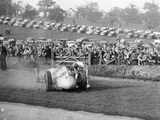 Dick Seaman with His Mercedes  Donington Grand Prix  1938
