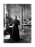 Marie Curie  Polish-Born French Physicist in Her Laboratory  1912