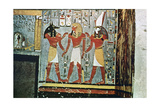 Mural from the Tombs of the Nobles  Thebes  Luxor  Egypt