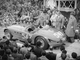 Ferrari of Giannino Marzotto  Mille Miglia  Italy  1953