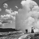 Old Faithful Geyser  Yellowstone National Park  USA  Early 19th Century