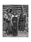 Patagonian Indians  Argentina  1922