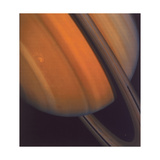 Close Up of Saturn's Rings  1981