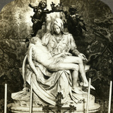 Pieta by Michelangelo  St Peter's Basilica  Rome  Italy