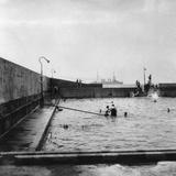 Swimming Pool  Balboa  Panama  1931