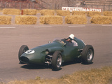 Roy Salvadori Driving an Aston Martin  Dutch Grand Prix  Zandvoort  1959