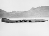 Goldenrod' Land Speed Record Attempt Car  Bonneville Salt Flats  Utah  USA  1965