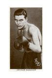 Arthur Danahar  British Boxer  1938