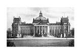 Germany's Houses of Parliament  Berlin  1926