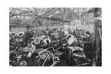 Ruins of the Renault Factory  Boulogne-Billancourt  Paris  C1942