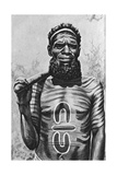 Medicine Man of the Worgaia  Central Australia  1922